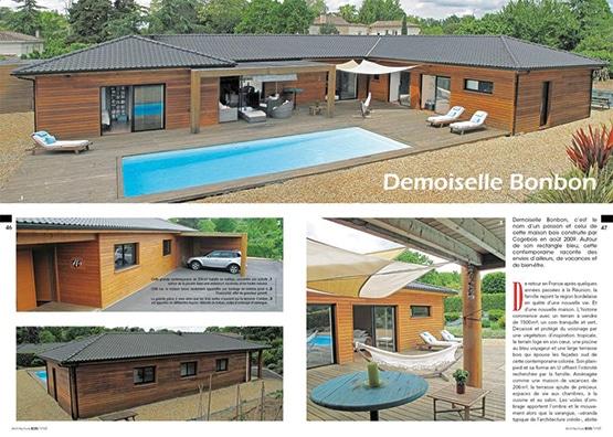 Le num ro 68 est en vente architecture bois magazine for Construction bois 68