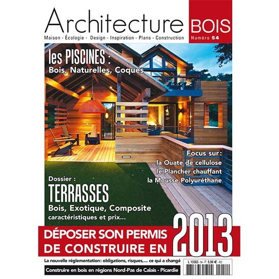 Abd 54 pdf architecture bois magazine maisons bois for Construction en bois pdf