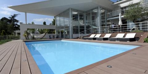 Belle piscine hors sol de reve luxueuse avec terrasse for Belle piscine hors sol