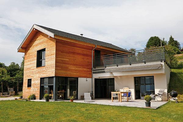 Galerie maisons ossature bois architecture bois for Magazine construction maison