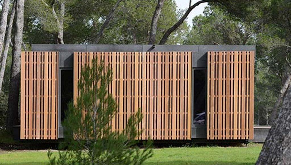 pop up house multipod studio architecture bois magazine maisons bois construction. Black Bedroom Furniture Sets. Home Design Ideas