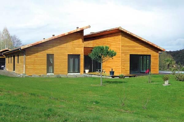 Galerie maisons bois architecture bois magazine for Maison bois limousin prix