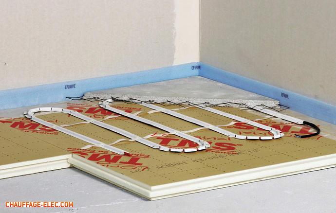 dossier chauffage au sol architecture bois magazine maisons bois construction. Black Bedroom Furniture Sets. Home Design Ideas