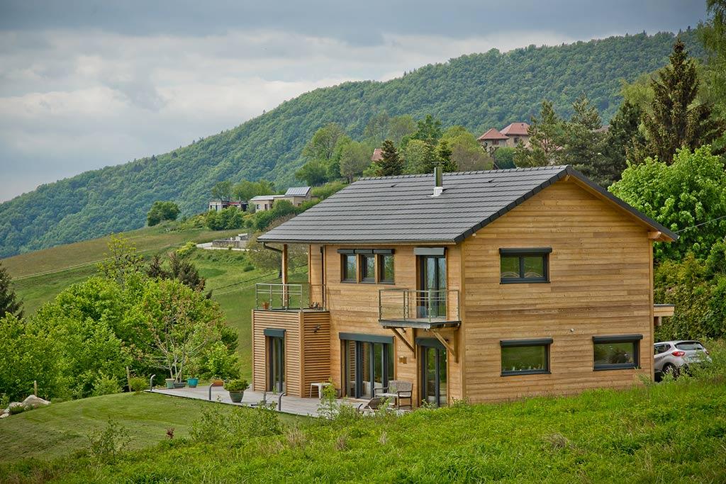 Reportage 67 chalet grand format architecte constructeur ameo architecture bois for Architecte constructeur