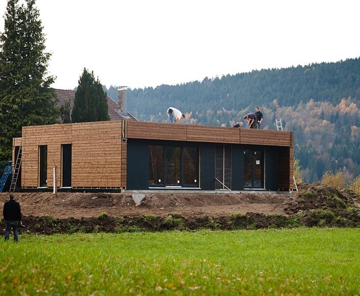 le g te architecture bois magazine maisons bois construction architecture reportages. Black Bedroom Furniture Sets. Home Design Ideas