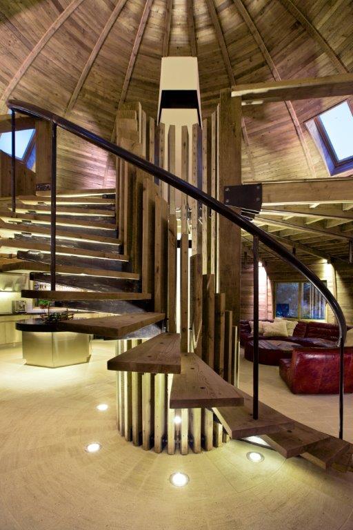 Reportage la maison dome architecture bois magazine for Maison dome en bois