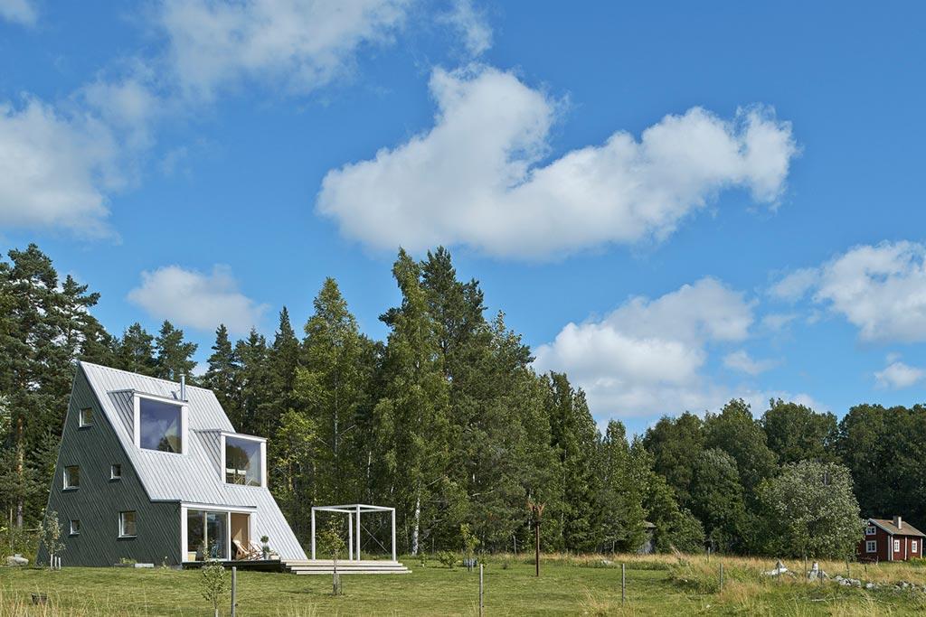 Reportage summer house architecture bois magazine for Reportage construction maison