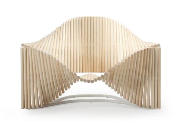 mobilier la curvy chair architecture bois magazine maisons bois construction. Black Bedroom Furniture Sets. Home Design Ideas