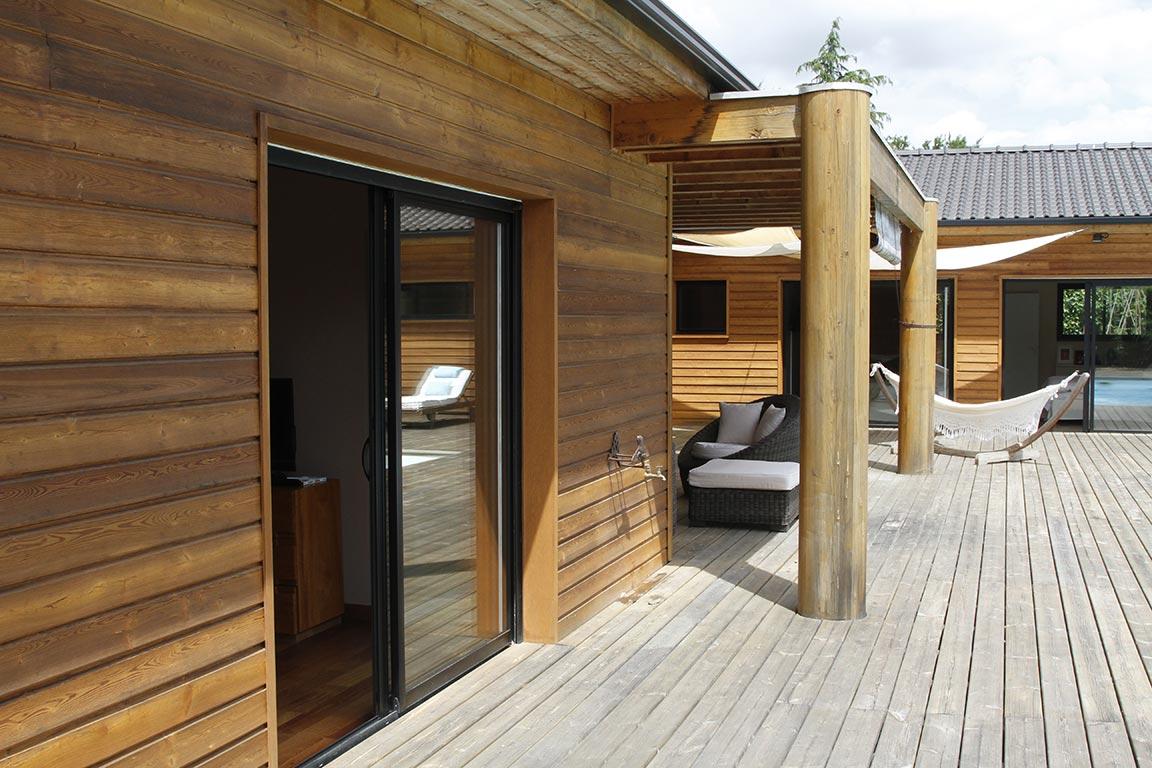 Demoiselle bonbon architecture bois magazine maisons for Construction bois 68
