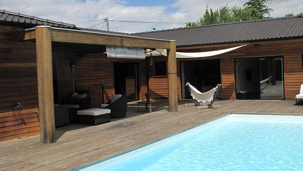Reportage 68 demoiselle bonbon constructeur cogebois for Construction bois 68