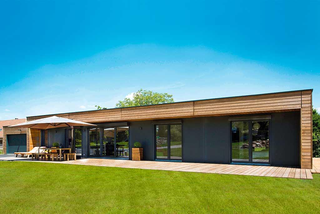 Maison bois architecte gallery of maison bois cachan with for Architecte ossature bois