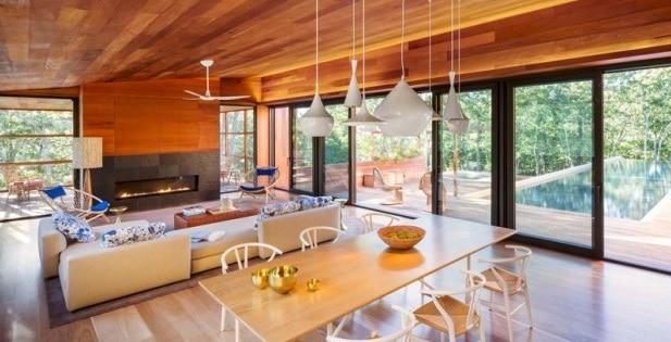 reportage maison contemporaine architecture bois. Black Bedroom Furniture Sets. Home Design Ideas