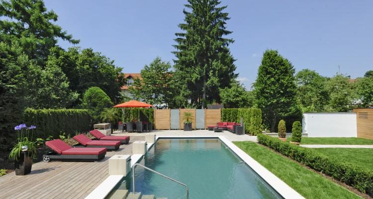 Architecturebois piscine visuels living pool for Construction piscine loi