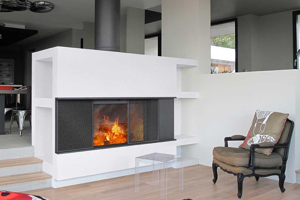 chauffage conomie et confort architecture bois magazine maisons bois construction. Black Bedroom Furniture Sets. Home Design Ideas