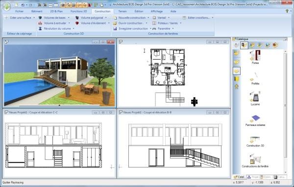 architecture bois 3d design version gold architecture