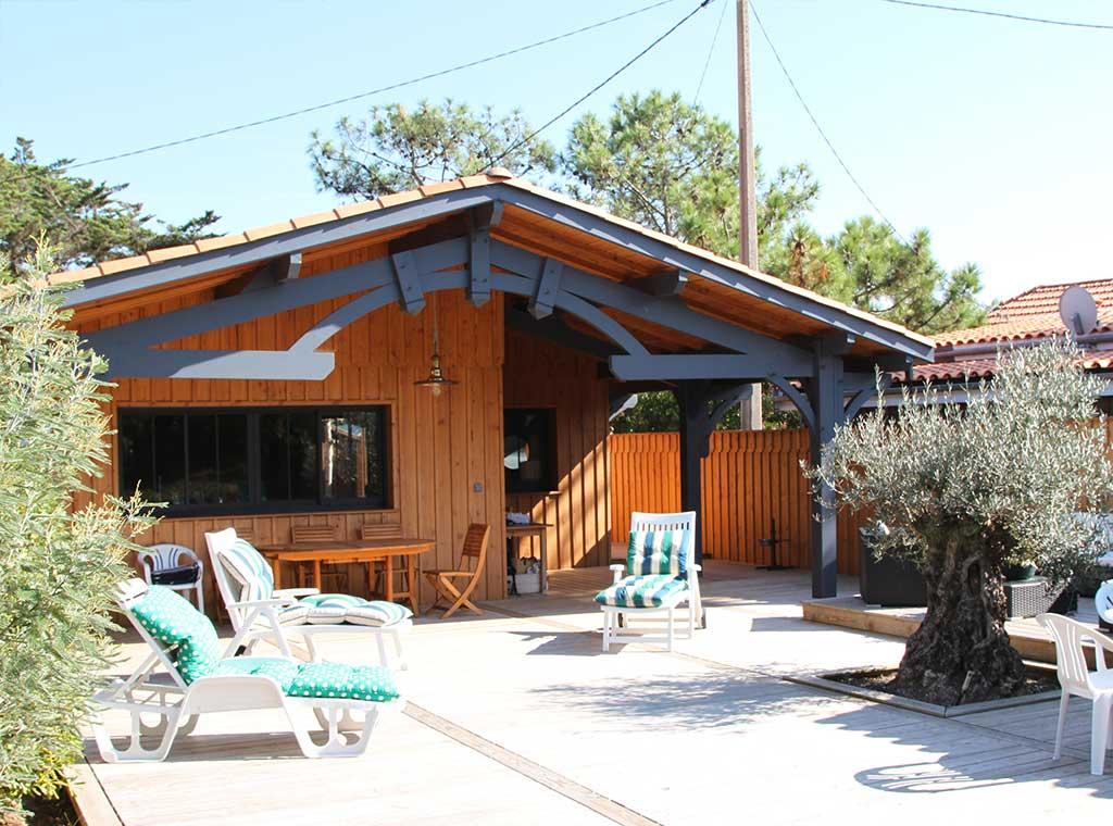 un gout de vacances architecture bois magazine maisons