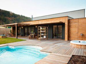 maisons page 10 architecture bois magazine maisons bois construction architecture. Black Bedroom Furniture Sets. Home Design Ideas