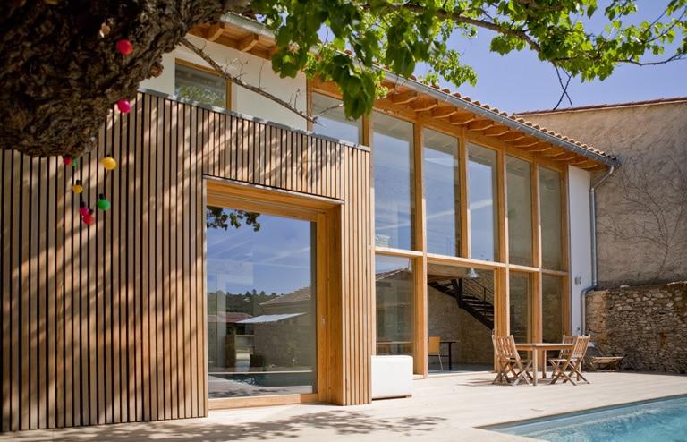 reportage extension vacances toute l ann e architecte architecture environnement. Black Bedroom Furniture Sets. Home Design Ideas