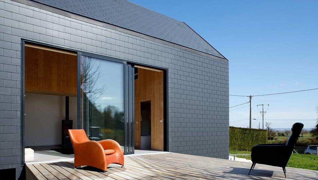 Bardage Bois Prpeint   Architecture Bois Magazine  Maisons