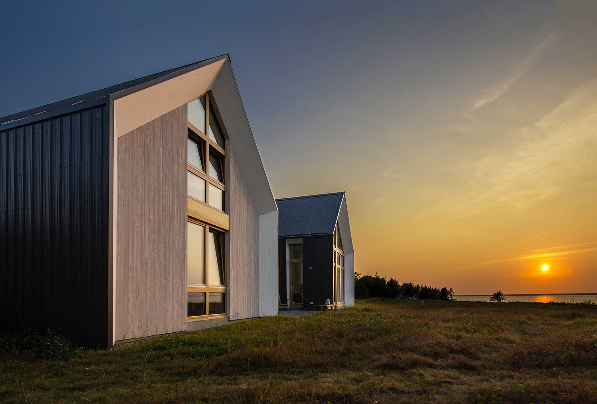 Les Jumelles Architecture Bois Magazine Maisons Bois