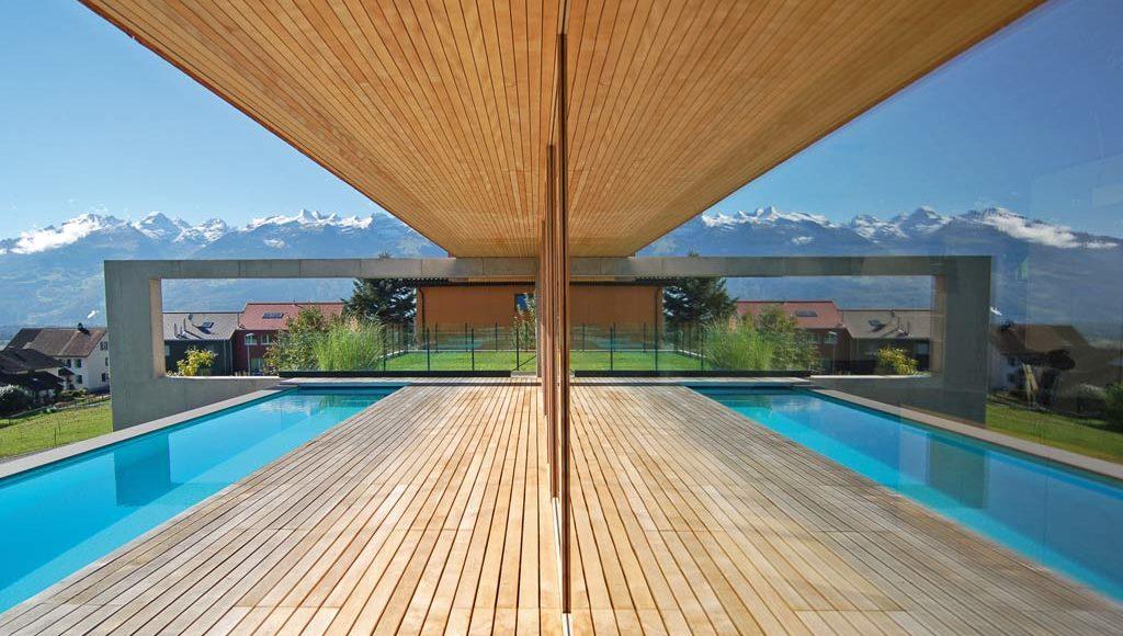 l haut sur la colline architecture bois magazine maisons bois construction architecture. Black Bedroom Furniture Sets. Home Design Ideas