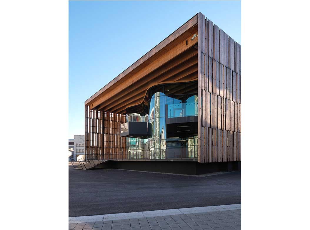 House Musique Architecture Bois Magazine Maisons