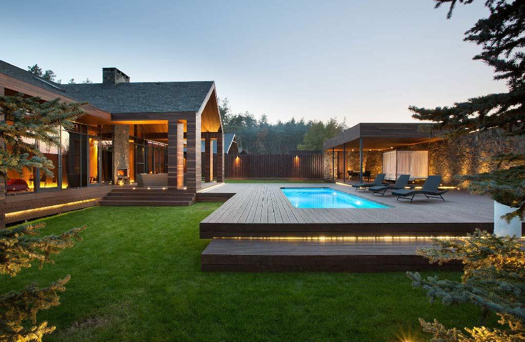 Chalet spa architecture bois magazine maisons bois for Chalet bois moderne