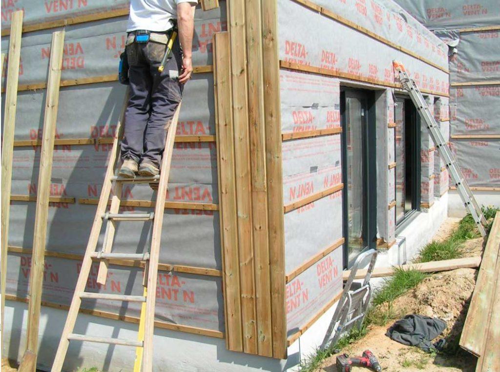 La pose du bardage architecture bois magazine maisons for Bardage pour maison ossature bois