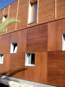 Architecture Bois Magazine Maison Bardage Façade Matériaux Extérieur  Jardin Toiture Habitat Protection Angle Lames Batiment