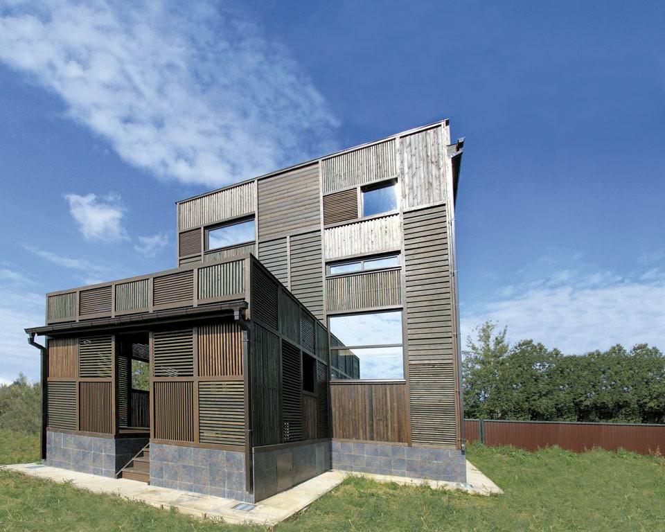la datcha du 21e si cle architecture bois magazine maisons bois construction. Black Bedroom Furniture Sets. Home Design Ideas