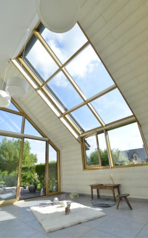 Les diff rents types de vitrage architecture bois - Isolation phonique fenetre bois ...