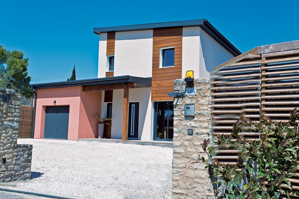 La voile grise architecture bois magazine maisons bois for Magazine construction maison