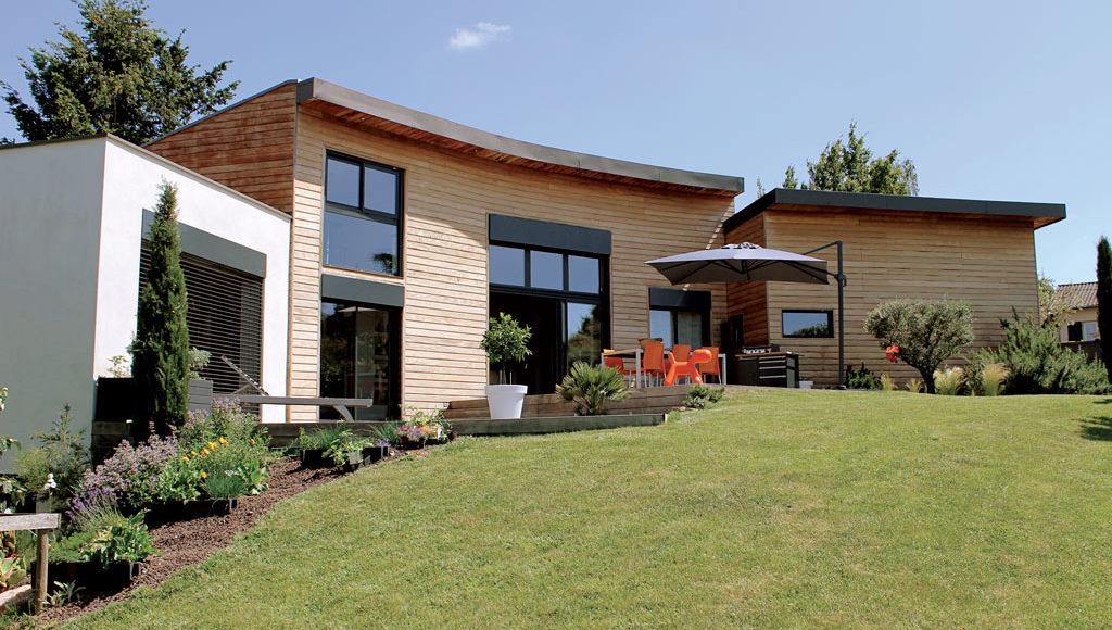 Un air de vacances architecture bois magazine for Architecture exterieur maison