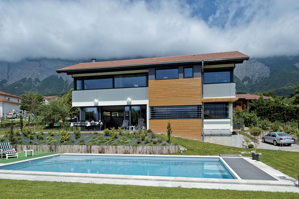 Couleurs sur belledonne architecture bois magazine for Architecture exterieur maison