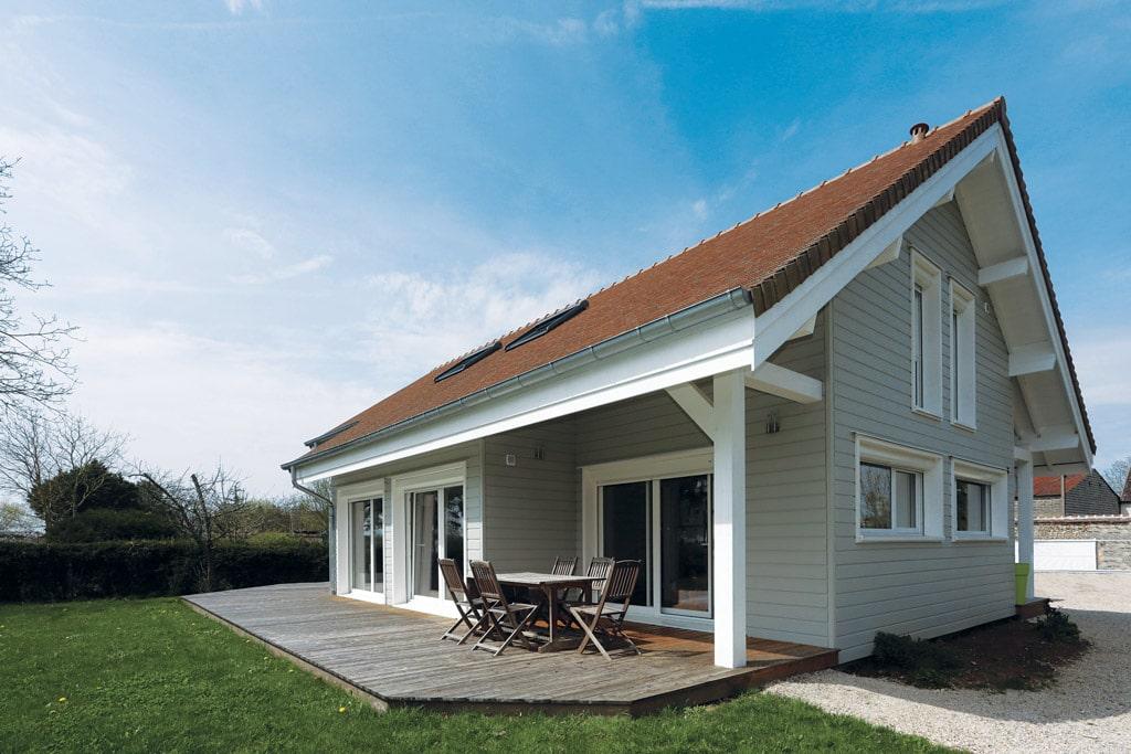 L 39 quilibre architecture bois magazine maisons bois for Magazine construction maison