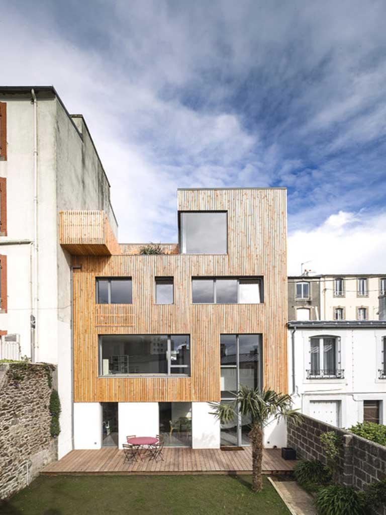 Surelevation maison bois montpellier for Construction bois montpellier