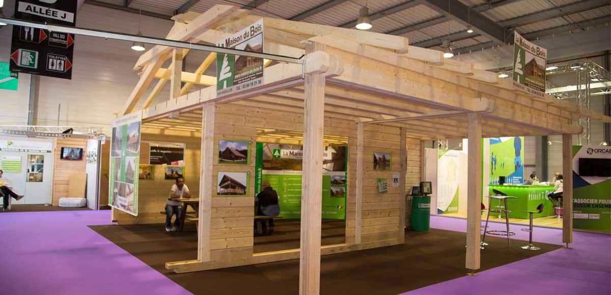 Les tendances bois se dévoilent en avrilà Chambéry Architecture Bois Magazine Maisons Bois  # Salon Construction Bois