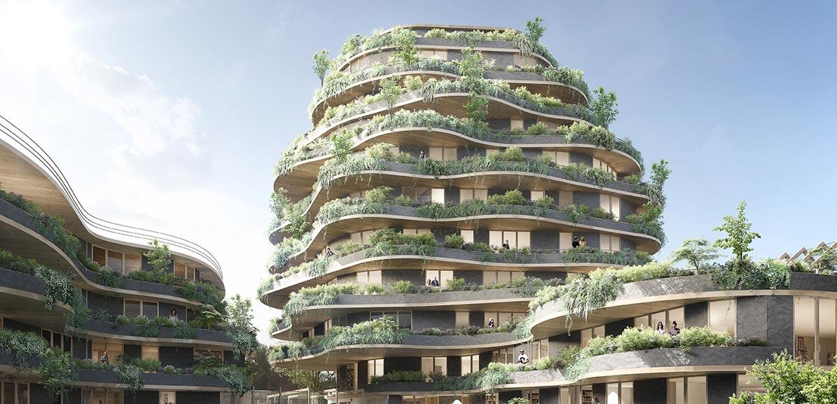 6 projets urbains pour r inventer angers architecture bois magazine maisons bois. Black Bedroom Furniture Sets. Home Design Ideas
