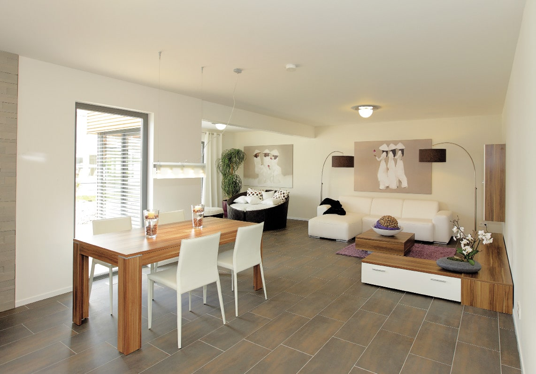 Vision contemporaine architecture bois magazine - Salon bois et blanc ...