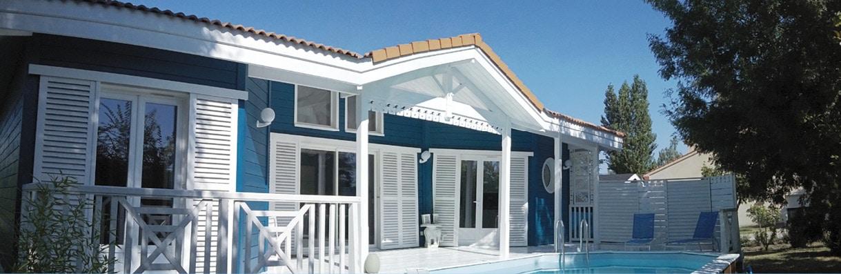 Étonnant La maison bleue - Architecture Bois Magazine - Infos sur la LU-64