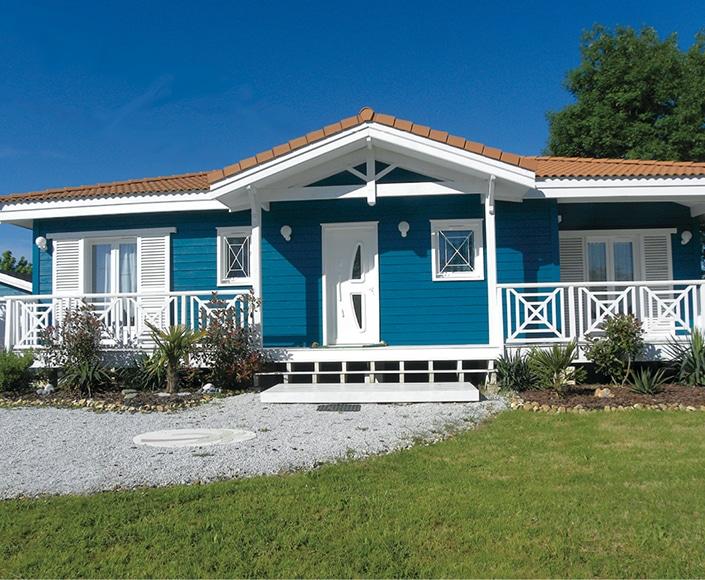 Croissant La maison bleue - Architecture Bois Magazine - Infos sur la FA-88
