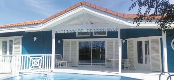 Nouvel La maison bleue - Architecture Bois Magazine - Infos sur la HO-41