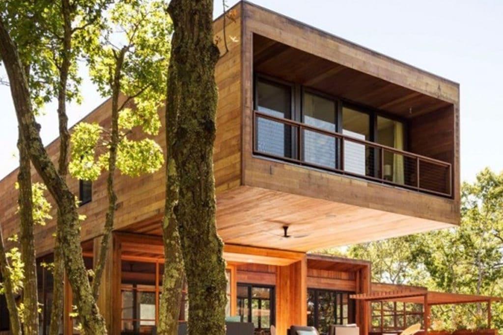 Reportage Maison Contemporaine Architecture Bois Magazine Infos Sur La Construction Et Maisons En Bois