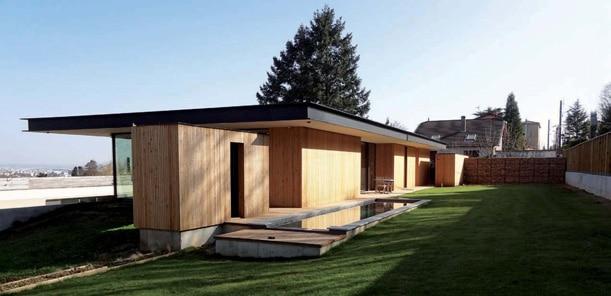 Architecture vivante architecture bois magazine for Maison bois originale