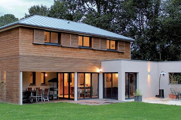 Maison en kit suede m6 ventana blog - Reportage construction maison ...