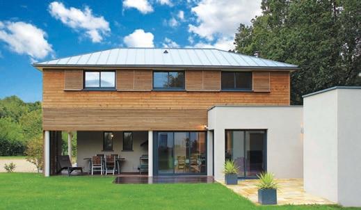 Reportage maison metisse architecture bois magazine maisons bois construction - Reportage construction maison ...