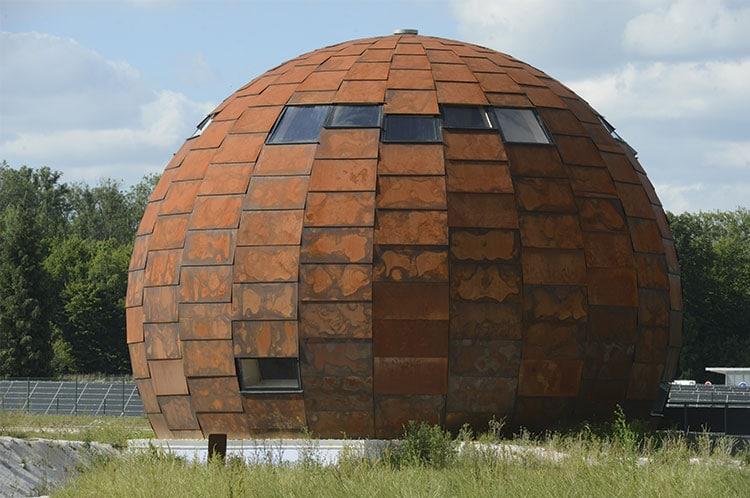 Maison de l energie solaire architecture bois magazine maisons bois con - Anglade structure bois ...