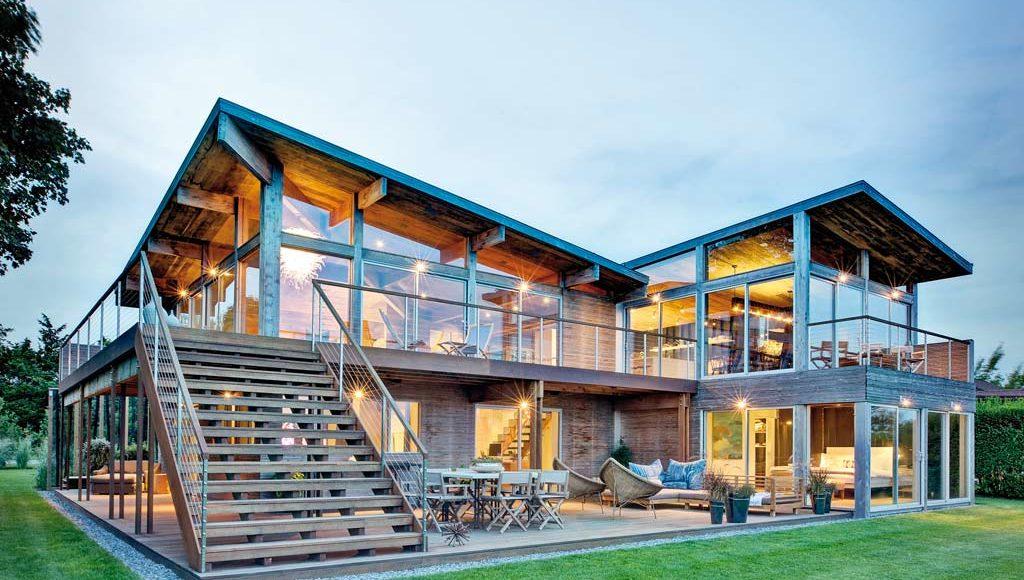Reportage : LA MAISON DE L'ESTUAIRE - Architecte : Bates Masi Architects - Constructeur ...