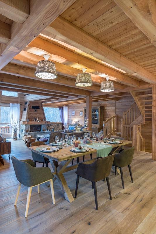 Reportage chalet d exception constructeur lombard vasina architecture bois magazine - Reportage construction maison ...