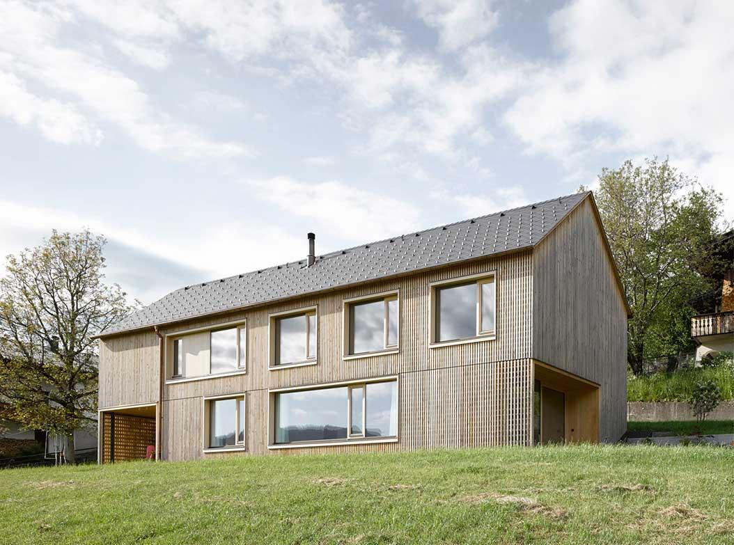 maison bois wood house